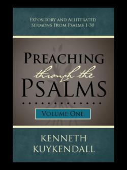 Preaching Through the Psalms Volume 1
