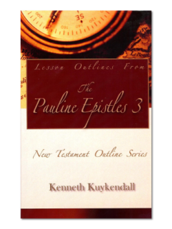Lesson Outlines From the Pauline Epistles 3