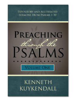 Preaching Through the Psalms Volume 1